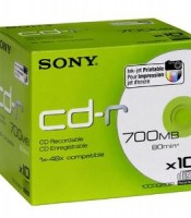 CD R 700 MB sony