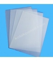 Plastik cover Folio transparan ( 100 lembar )