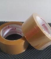 Lakban Warna Coklat Besar Gold tape