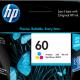 Tinta HP Color 60